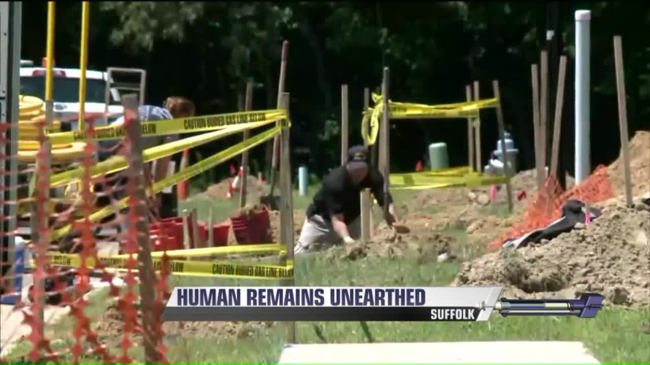 Workers Make Gruesome Discovery At Construction Site