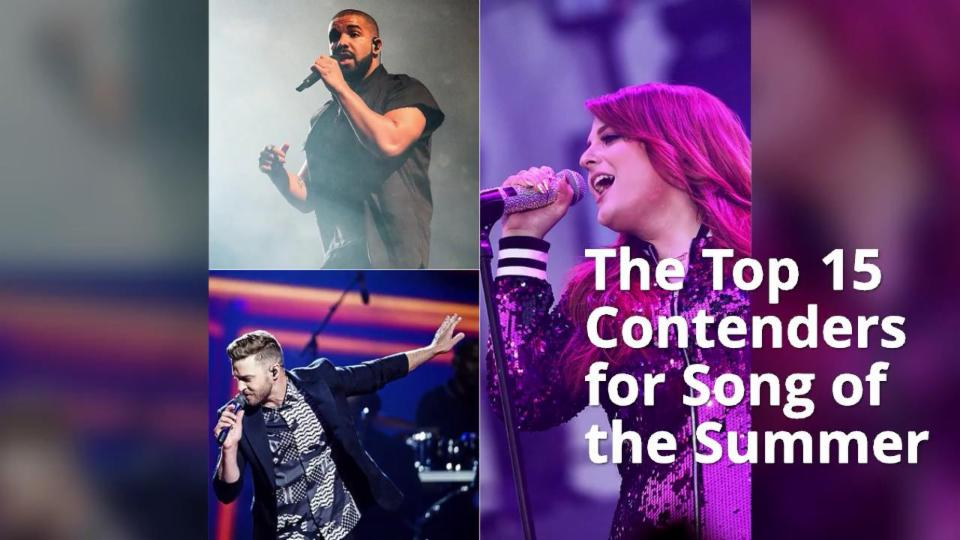 The Top 15 Contenders for Song of the Summer