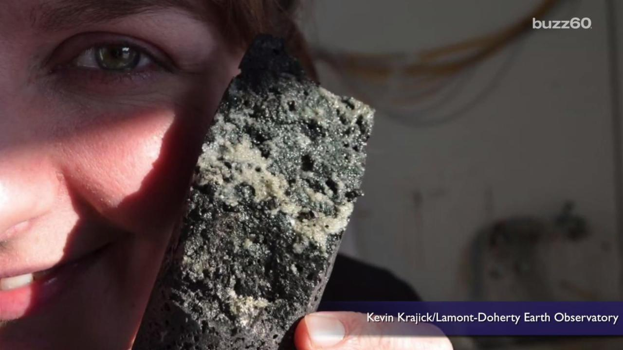 Scientists Turn Carbon Dioxide into Stone