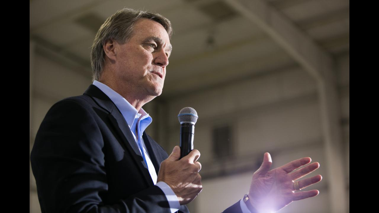 Republican senator David Perdue prays Obama's days are 'few'