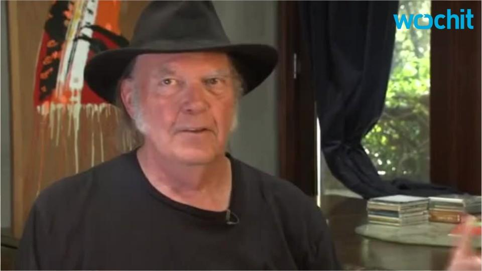 Neil Young Not A Fan Of Donald Trump