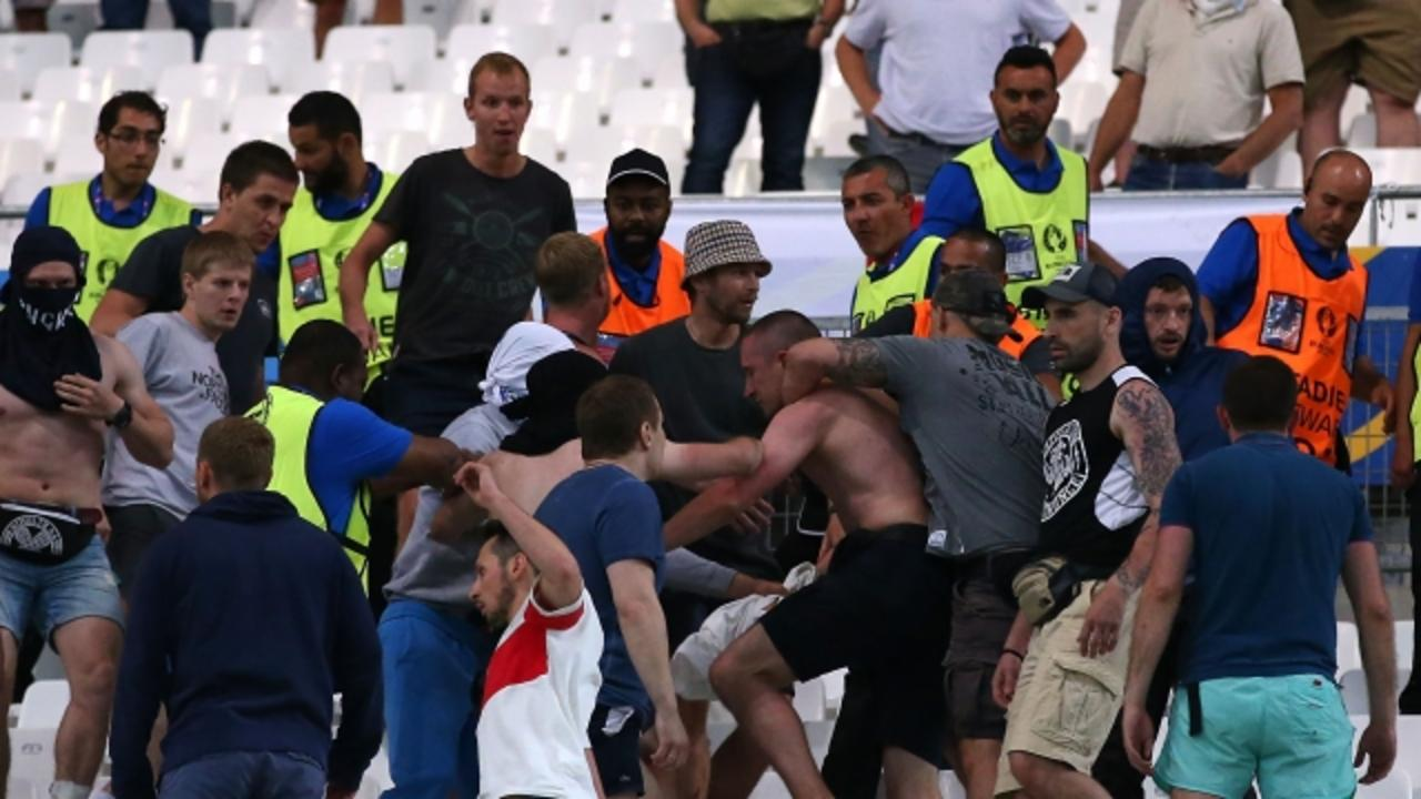 Violent Riots Plague Euro 2016 Soccer Tournament