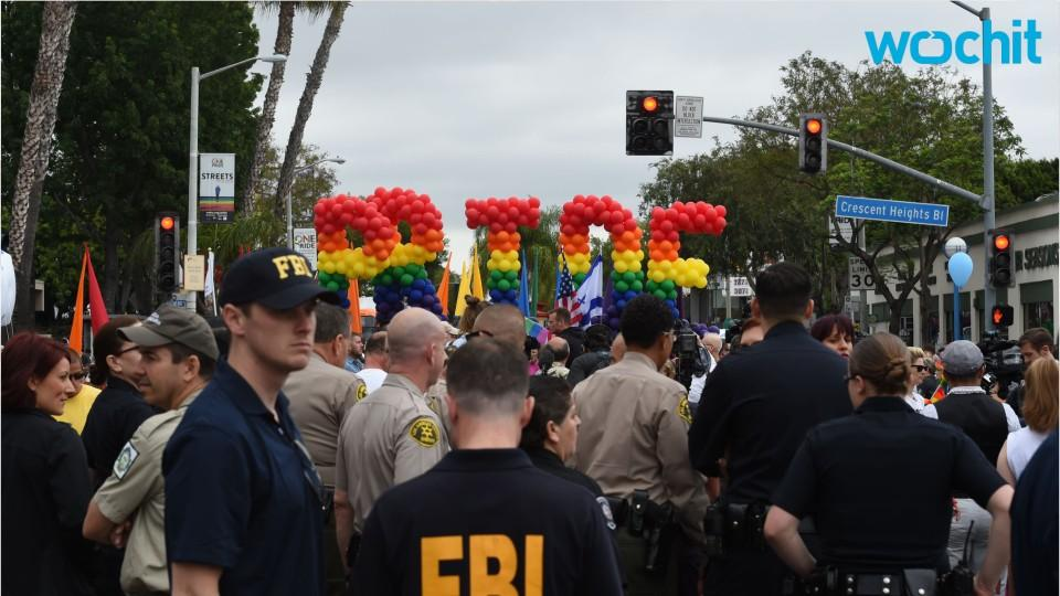 The LA Gay Pride Parade Continues Following The Arrest Of An Armed Man