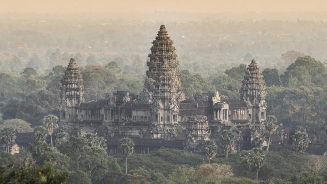 Technology Reveals Hidden Medieval Cities Near Angkor Wat