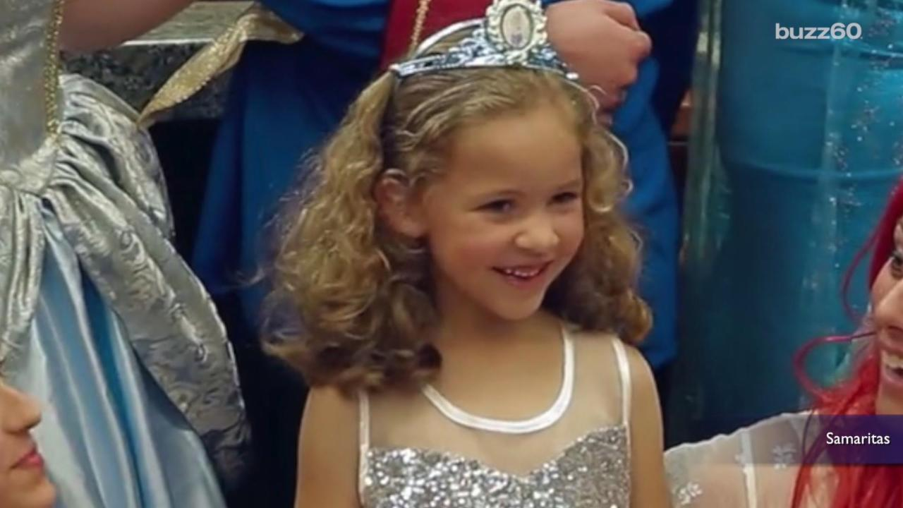 Little Girl's Princess Adoption Wish Comes True