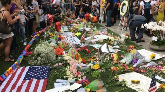 Orlando Vigil for Shooting Victim Draws Hundreds