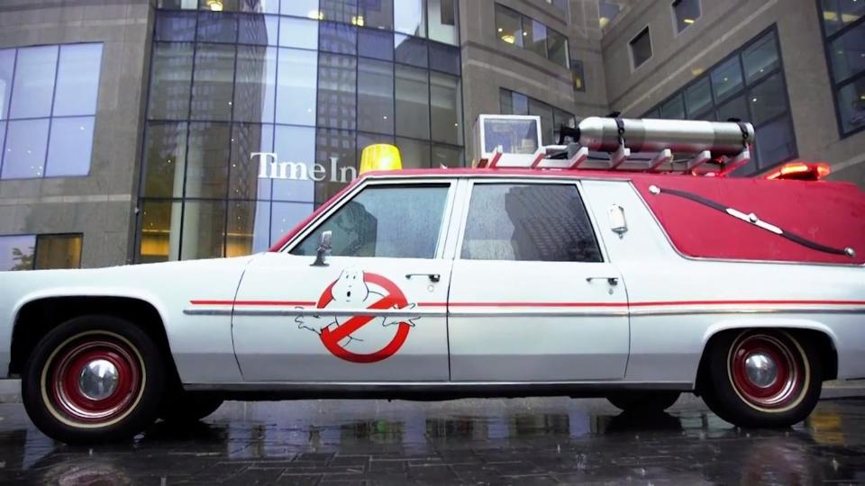 'Ghostbusters': EW Takes Joy Ride in the Ecto-1