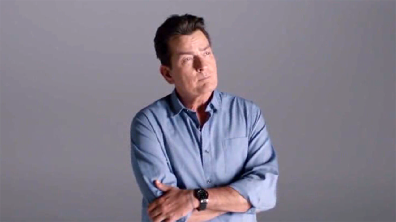 Charlie Sheen Promotes Condoms