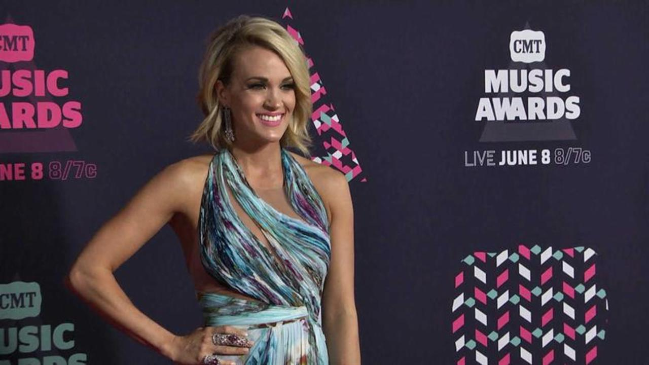 Carrie Underwood's Tips for Toned Legs
