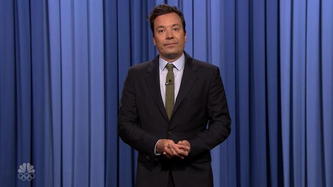 Jimmy Fallon, other late-night hosts, get serious about Orlando shooting