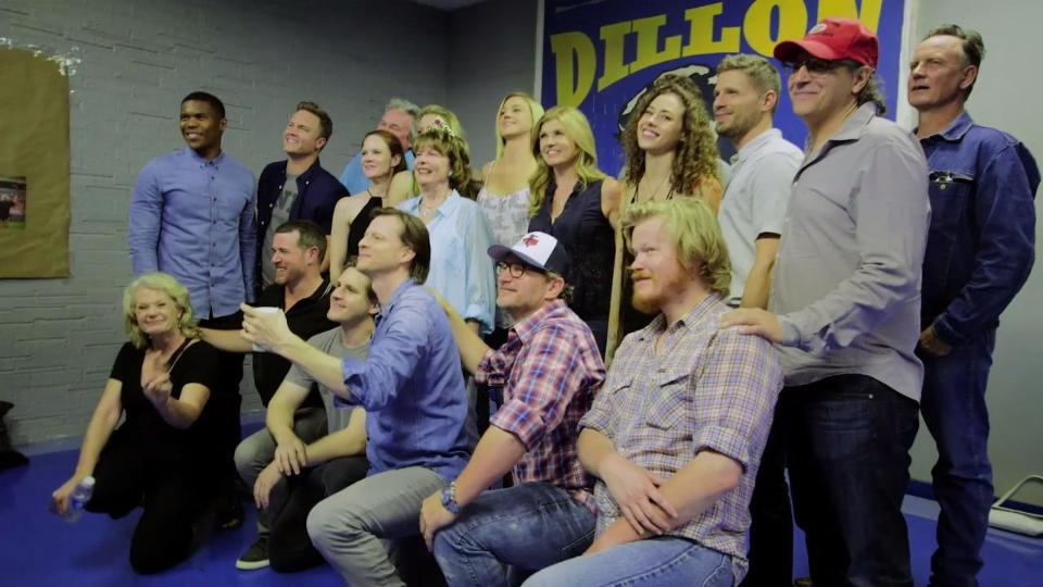 The Cast of 'Friday Night Lights' Reunites on Panther Field One Last Time