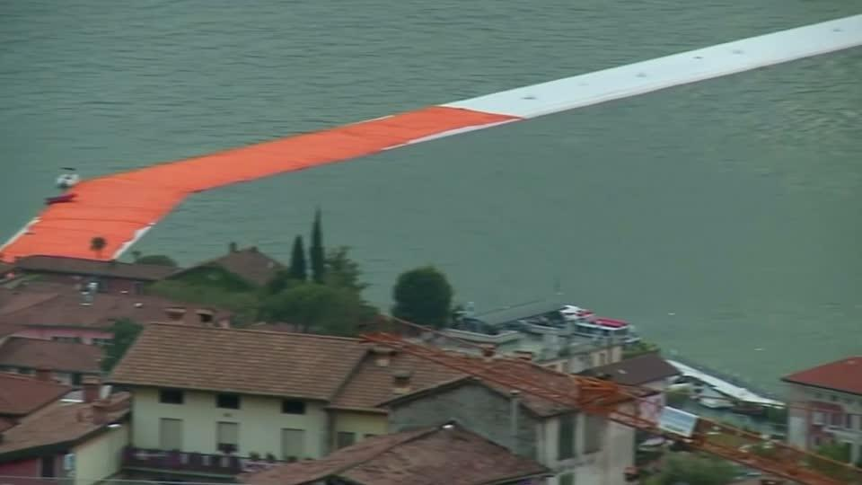 "Christo's ""Floating Piers"""