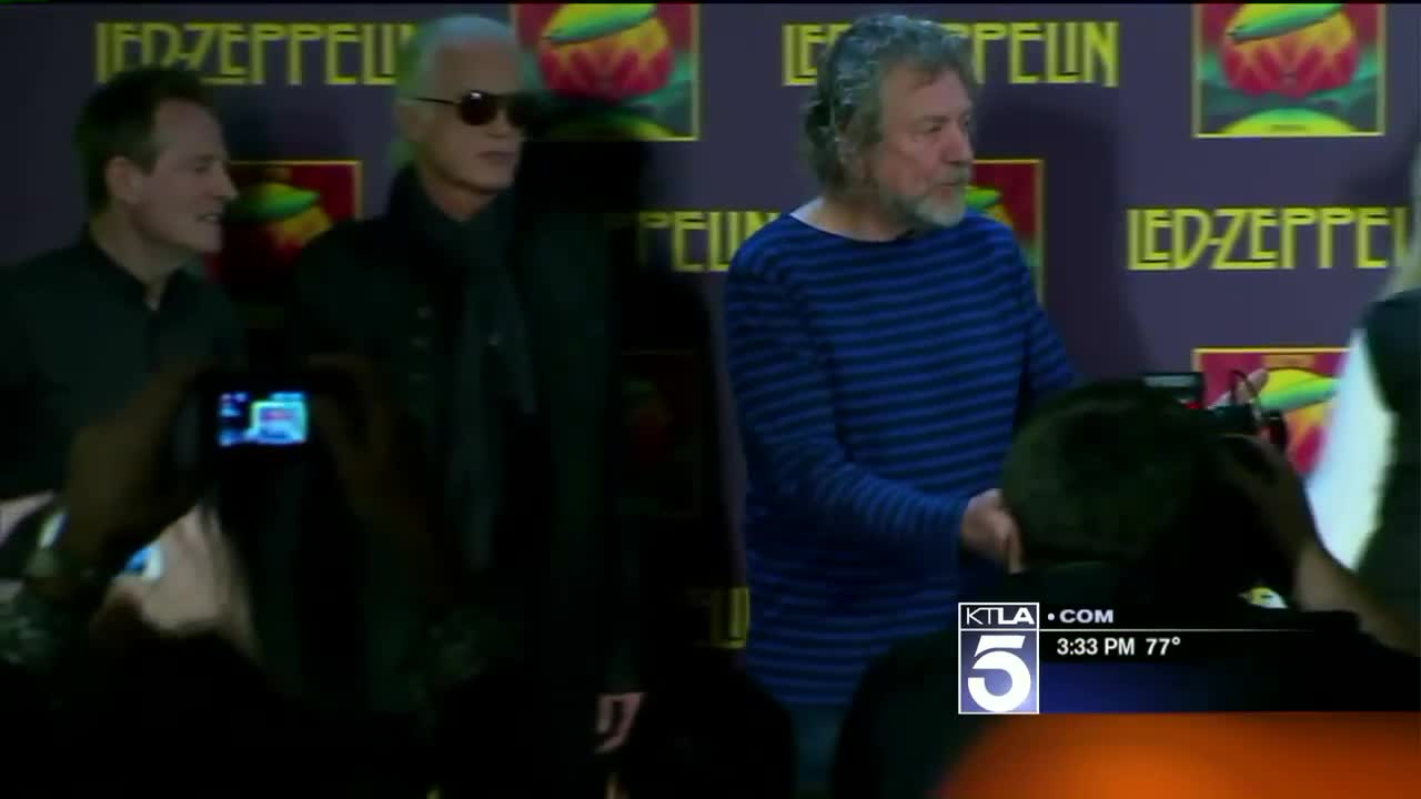 Led Zeppelin Guitarist Jimmy Page Spars With Attorney Over Plagiarism Allegations
