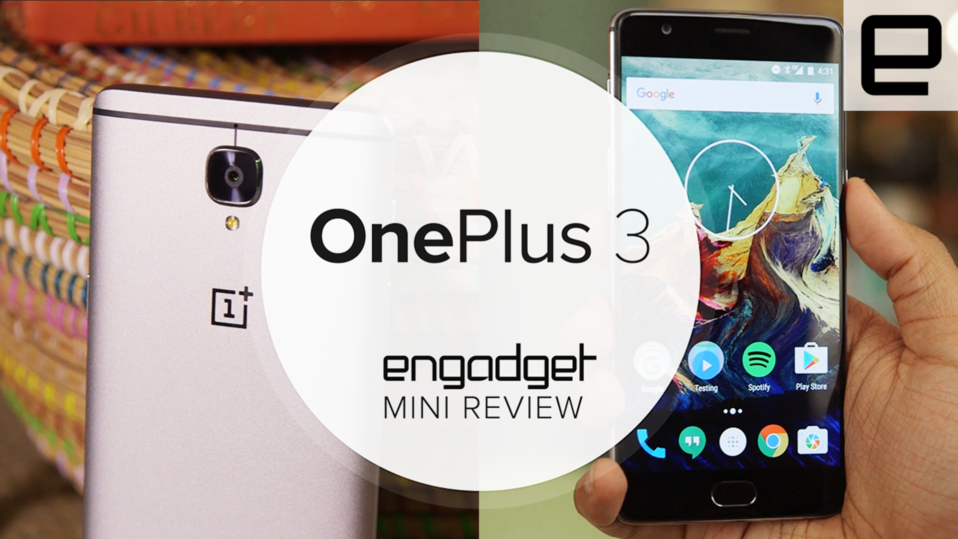 Mini review video: Our verdict on the OnePlus 3 in a minute