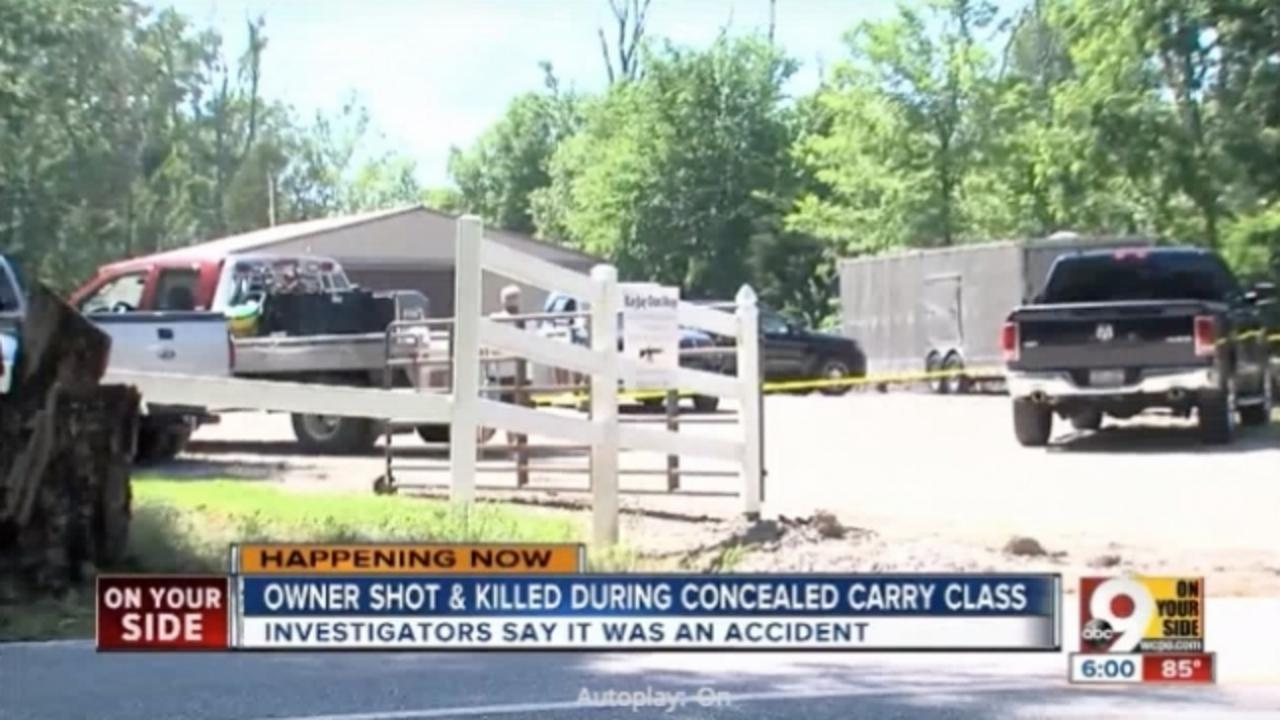 Gun Shop Owner Shot and Killed During Concealed Carry Class