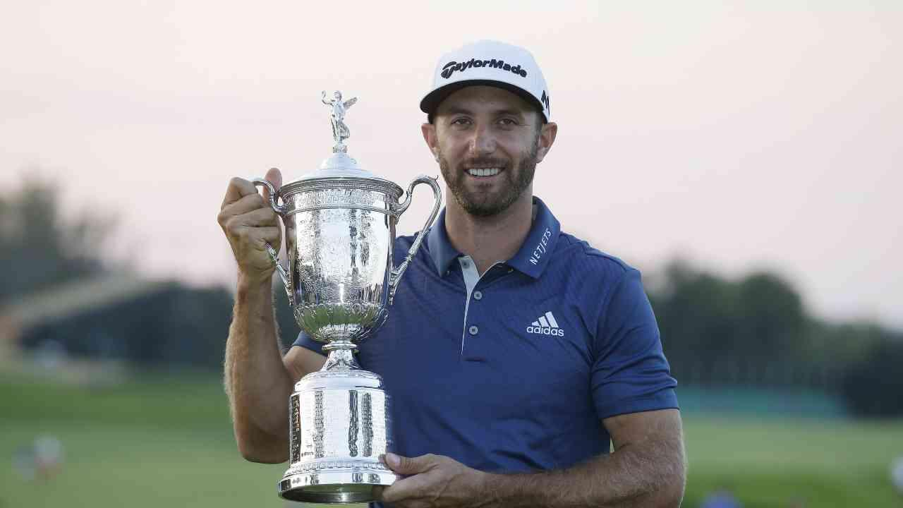 Dustin Johnson Wins U.S. Open at Oakmont