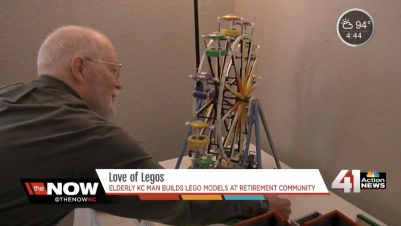84-Year-Old Man Stays Young by Building Lego Models