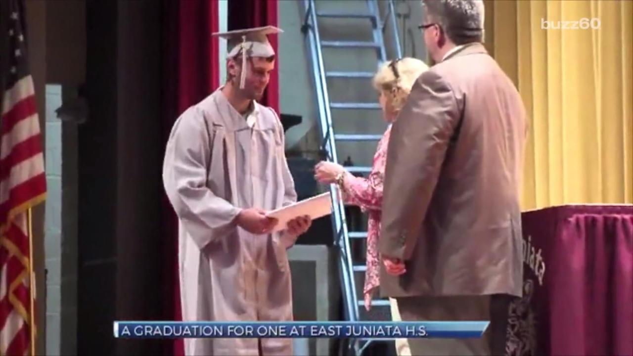 High School Recreates Graduation Ceremony After Senior Awakens from Coma