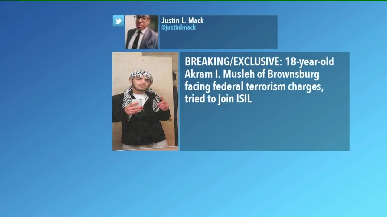 18-Year-Old Indiana Man Arrested, Accused of Attempting To Join ISIS