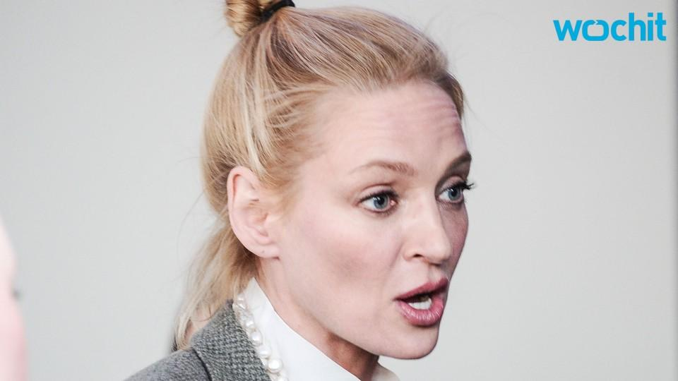 "Uma Thurman Fell Off Her Horse and ""Broke a Few Bones"""