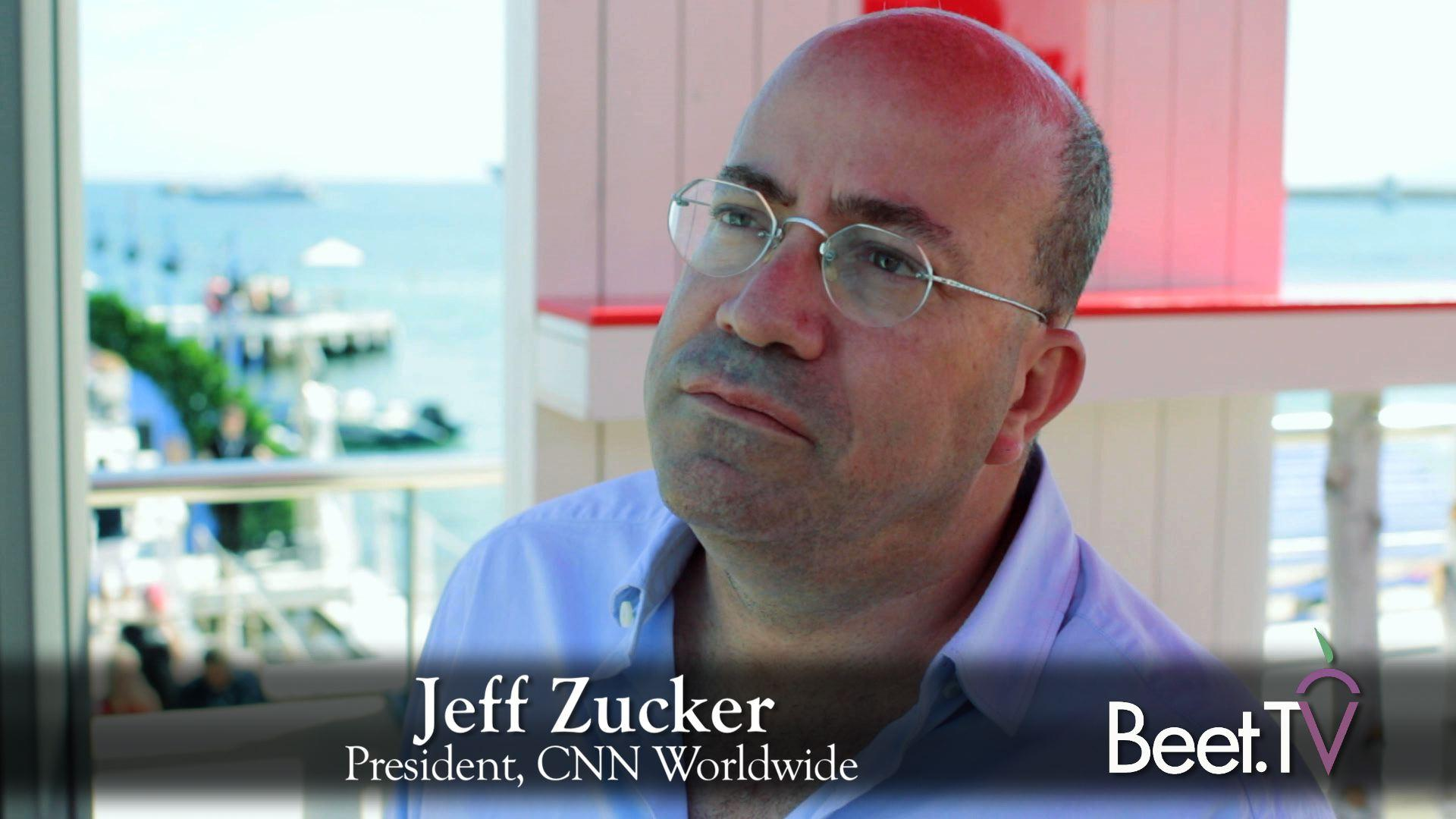 (VIDEO) CNN Chief Zucker: With Original Programming, Not Just A News Network