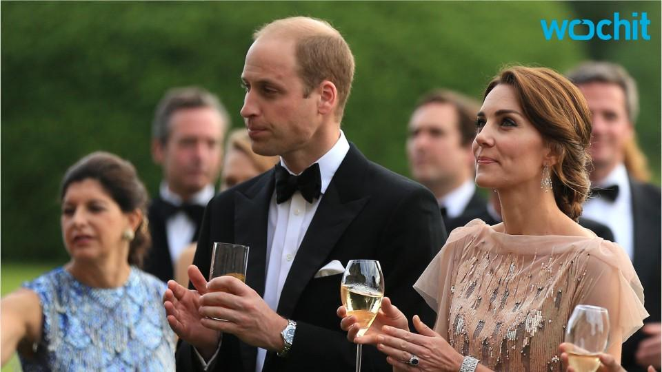 William And Kate Attend Charity Gala Dinner