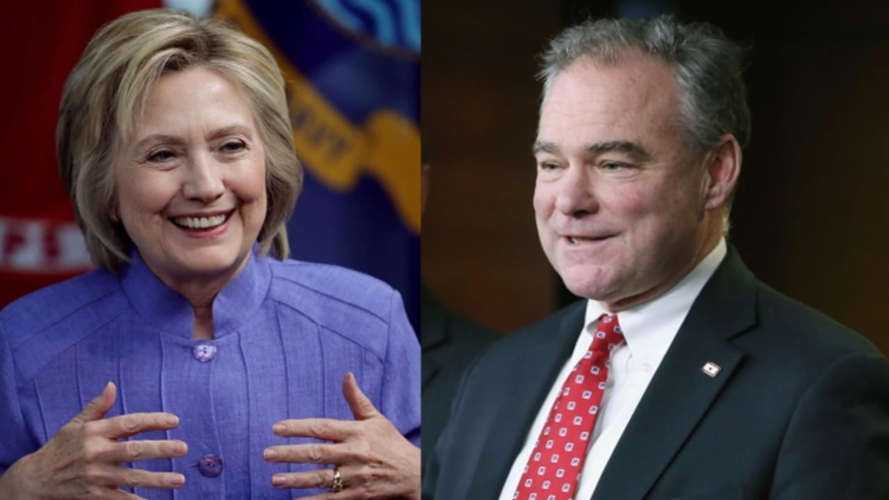 Tim Kaine Could Be Hillary Clinton's Safest VP Option Yet