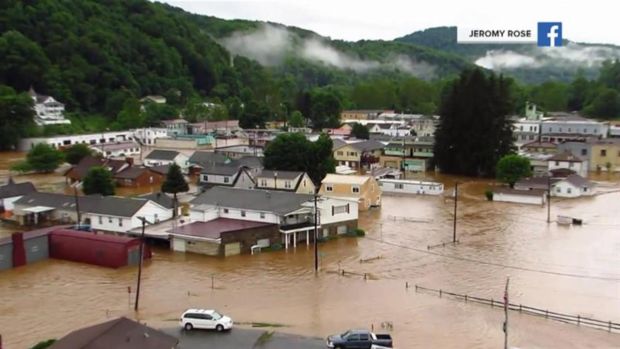 At least 2 dead in West Virginia after days of severe storms