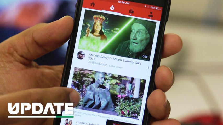 YouTube Brings Live Streaming to Its Mobile Apps