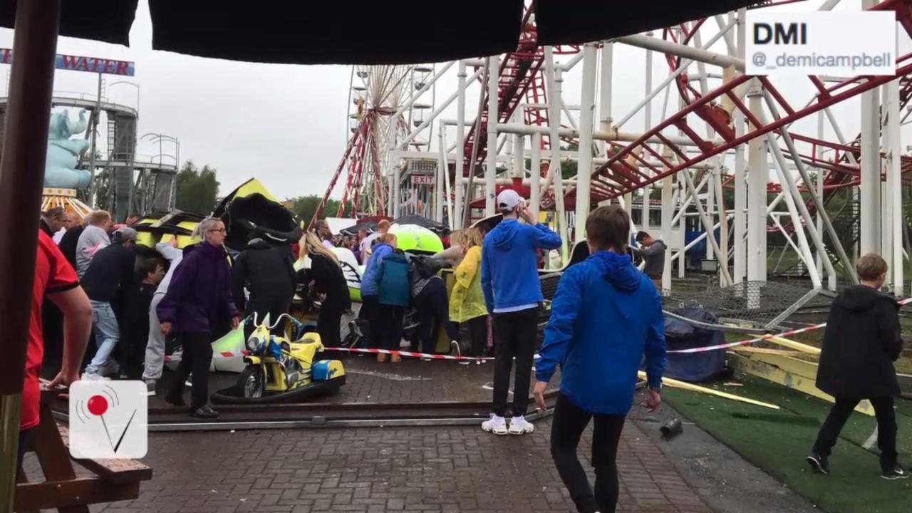 Horrific Roller Coaster Accident in Scotland