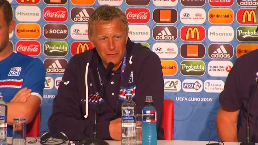 Iceland Coach Compares Team to an Icelandic Army