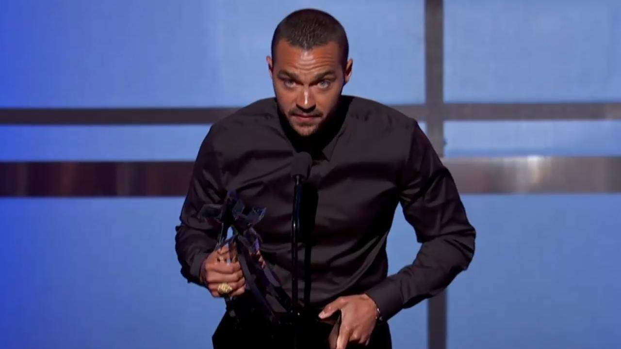 Grey's Anatomy Star Jesse Williams Talked About Racism at the BET Awards