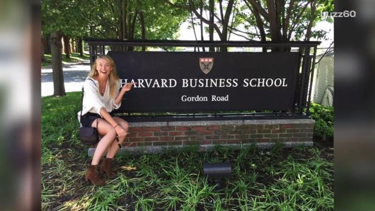 Maria Sharapova is Heading to Harvard
