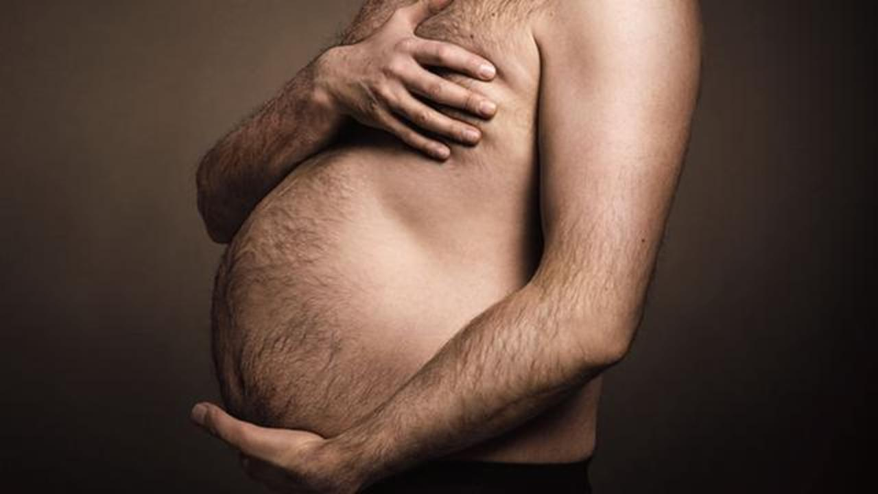 Men Hold Their Beer Bellies Like Baby Bumps In Viral Ad