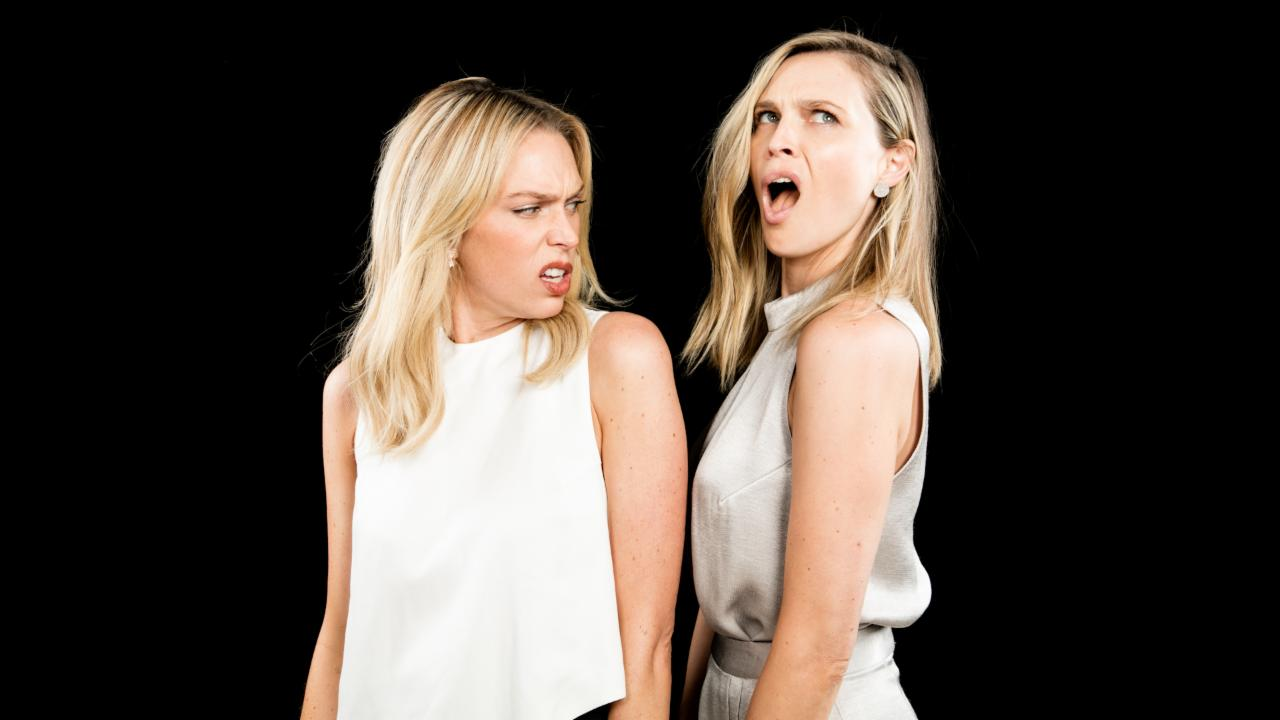 "Erin and Sara Foster On  ""Barely Famous"""
