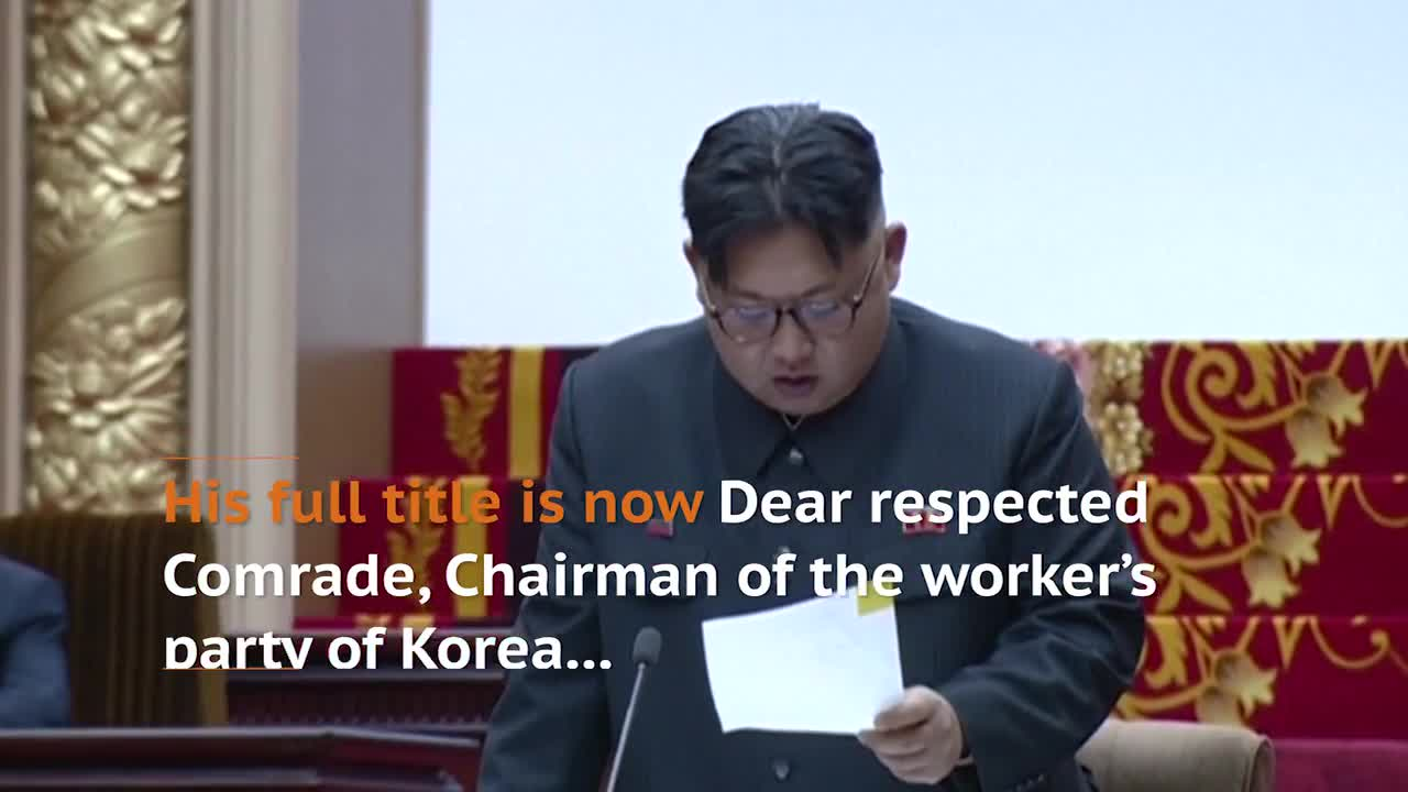 North Korean Parliament Awards Leader Kim Jong Un Fresh Title