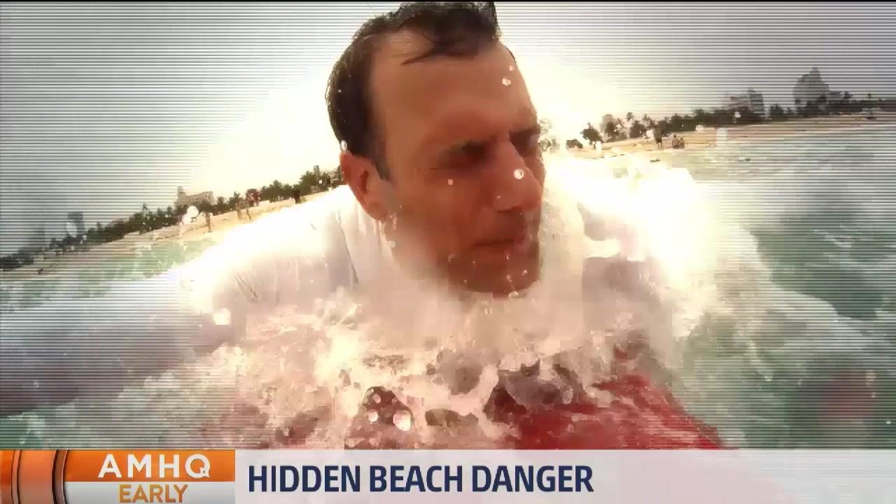 Hidden Beach Dangers