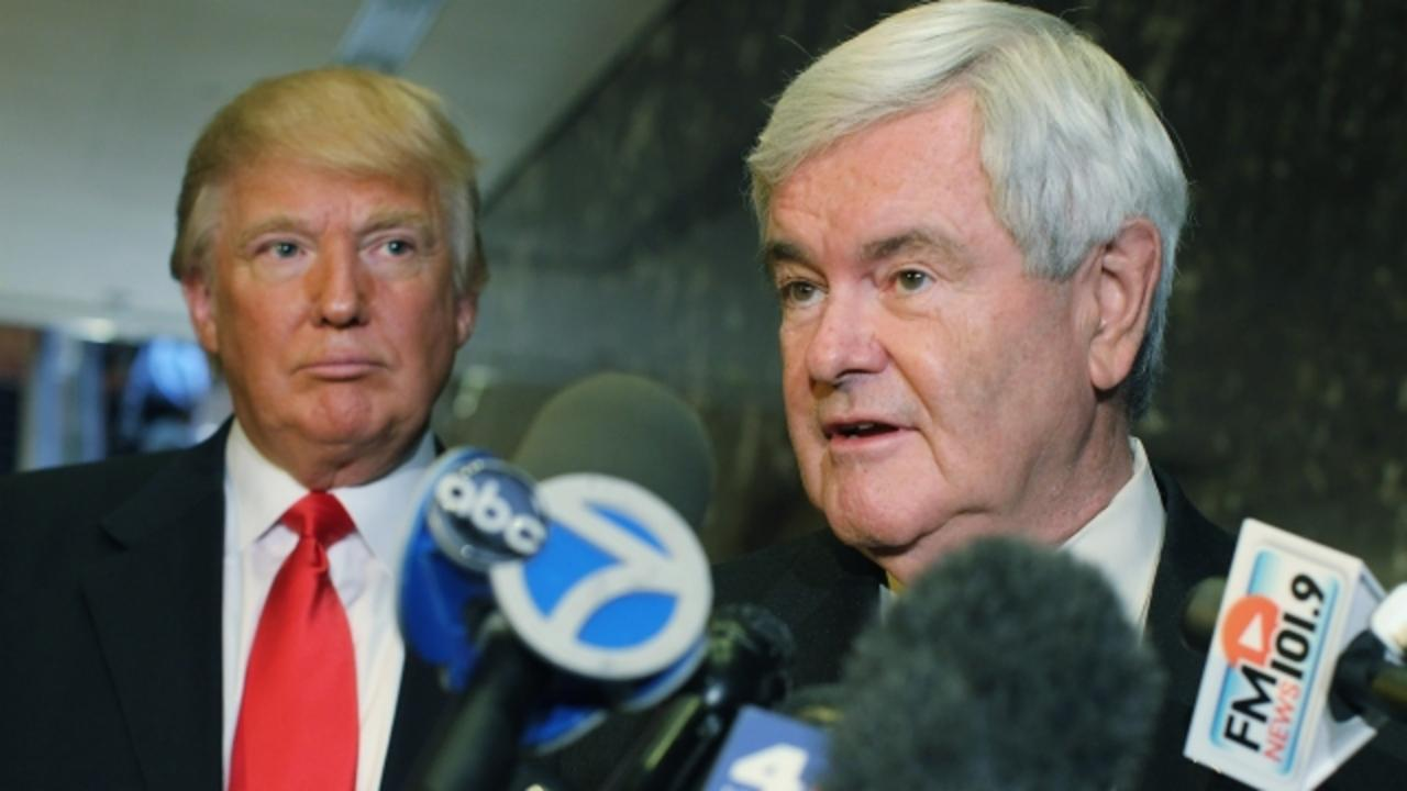 Newt Gingrich Might Be Donald Trump's Top Pick for VP