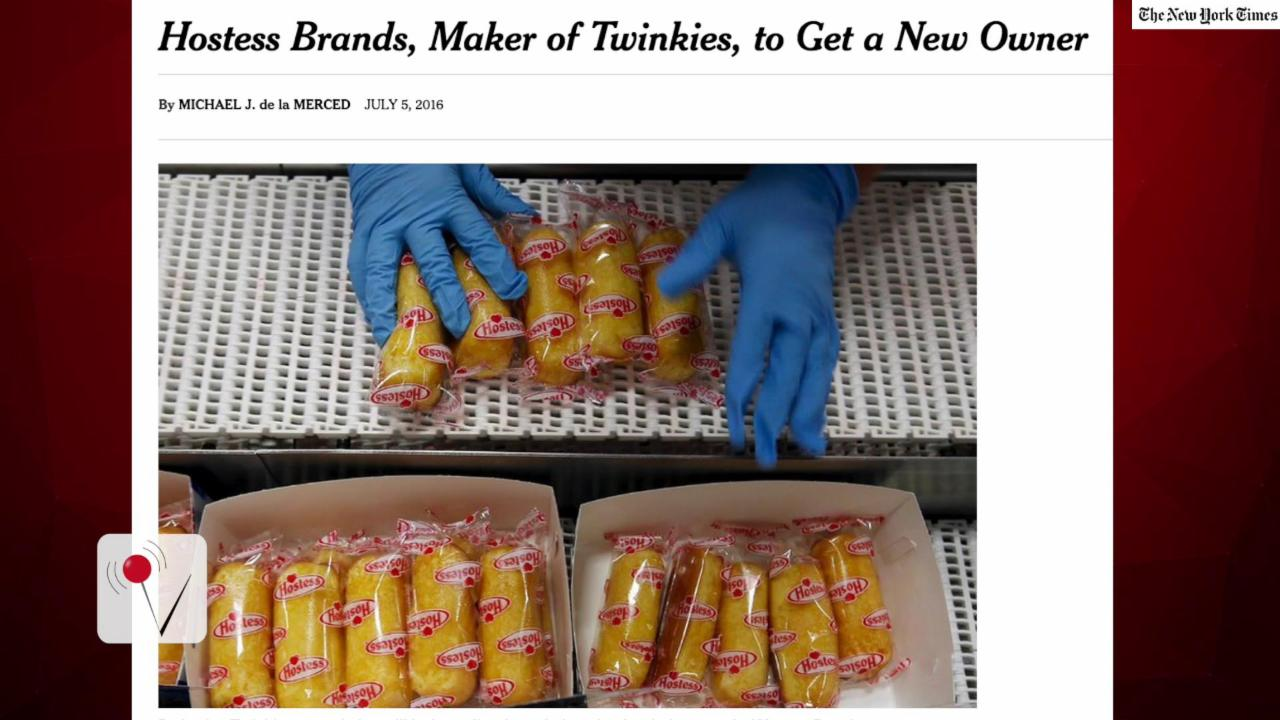 A Big Move by the Maker of Twinkies