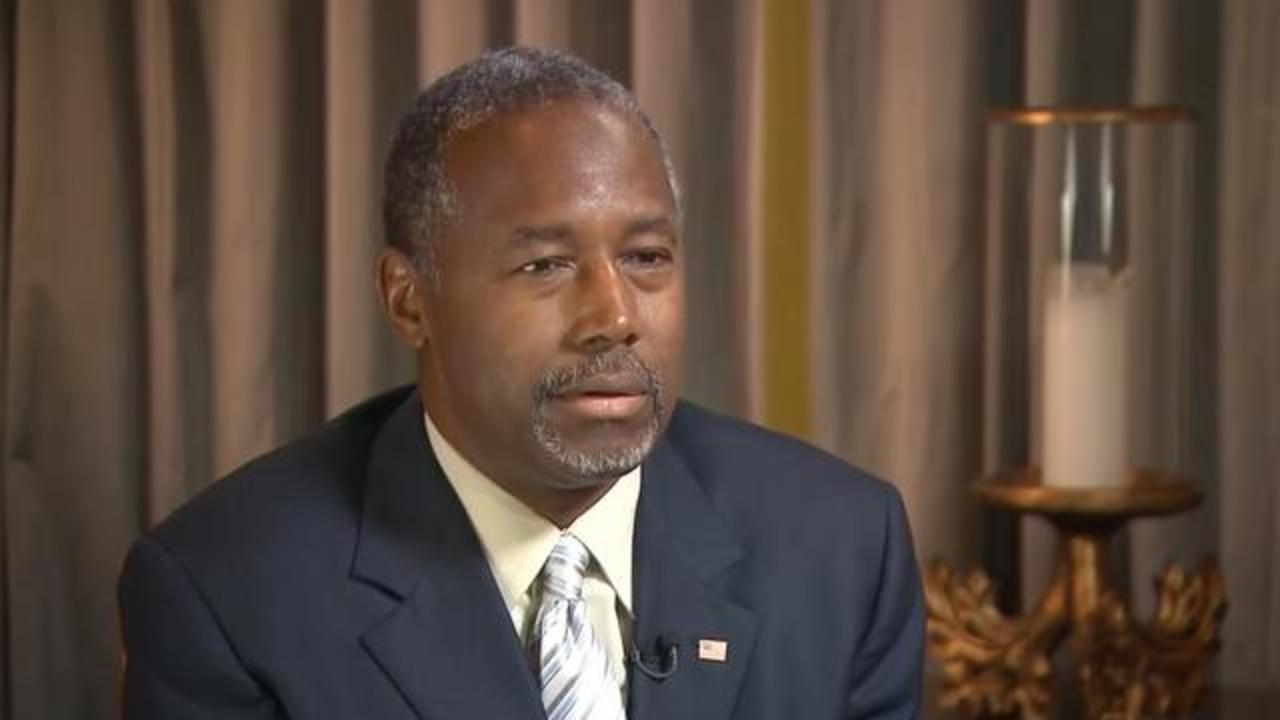 Ben Carson's Tweet Advising Restraint Believed to Be Directed at Trump