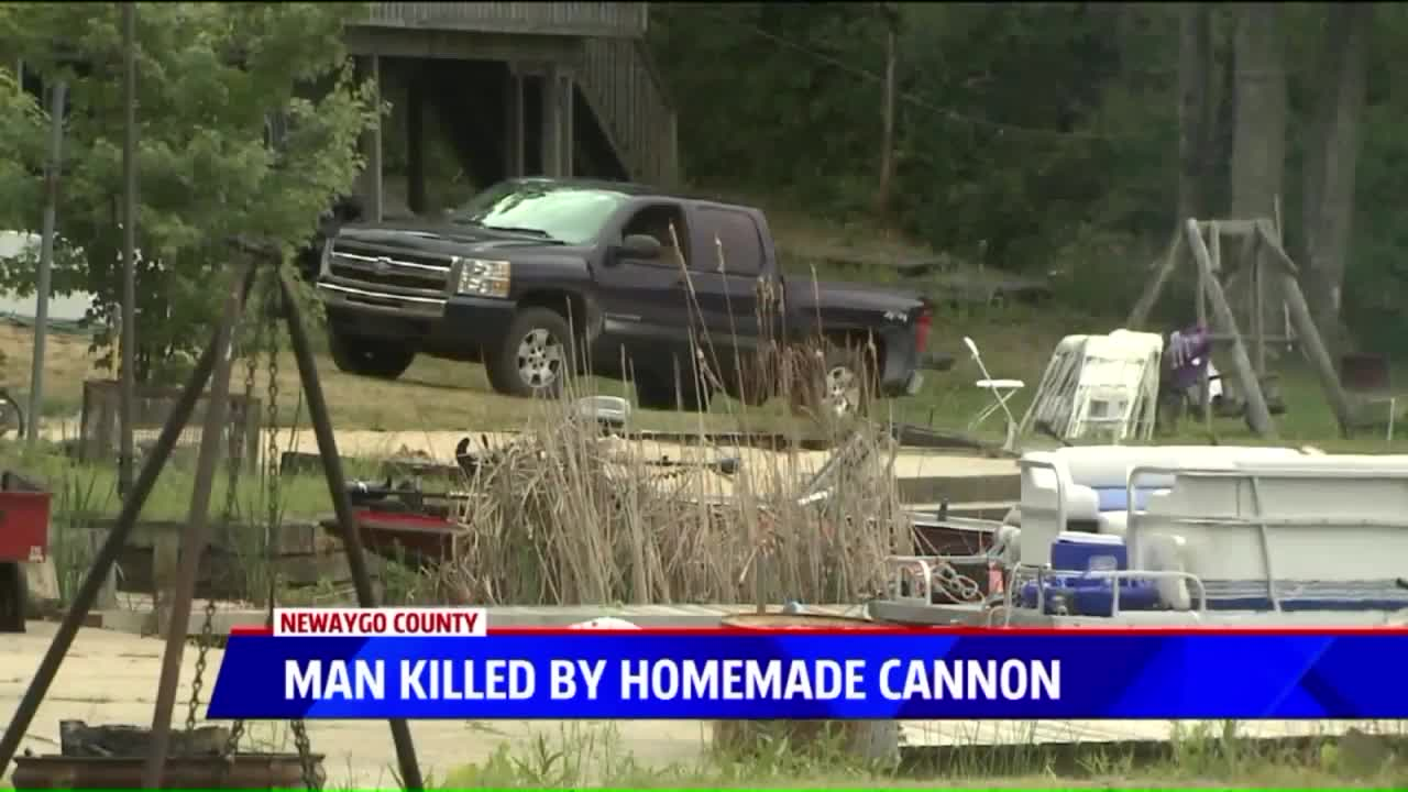 Police Say Michigan Man Killed In 'Homemade Cannon' Accident