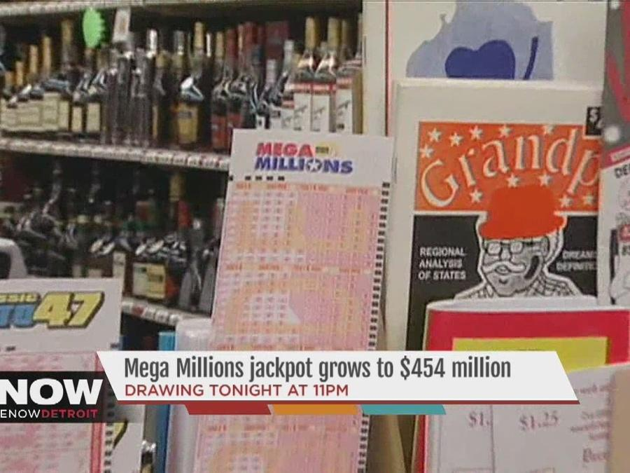 Mega Millions drawing tonight