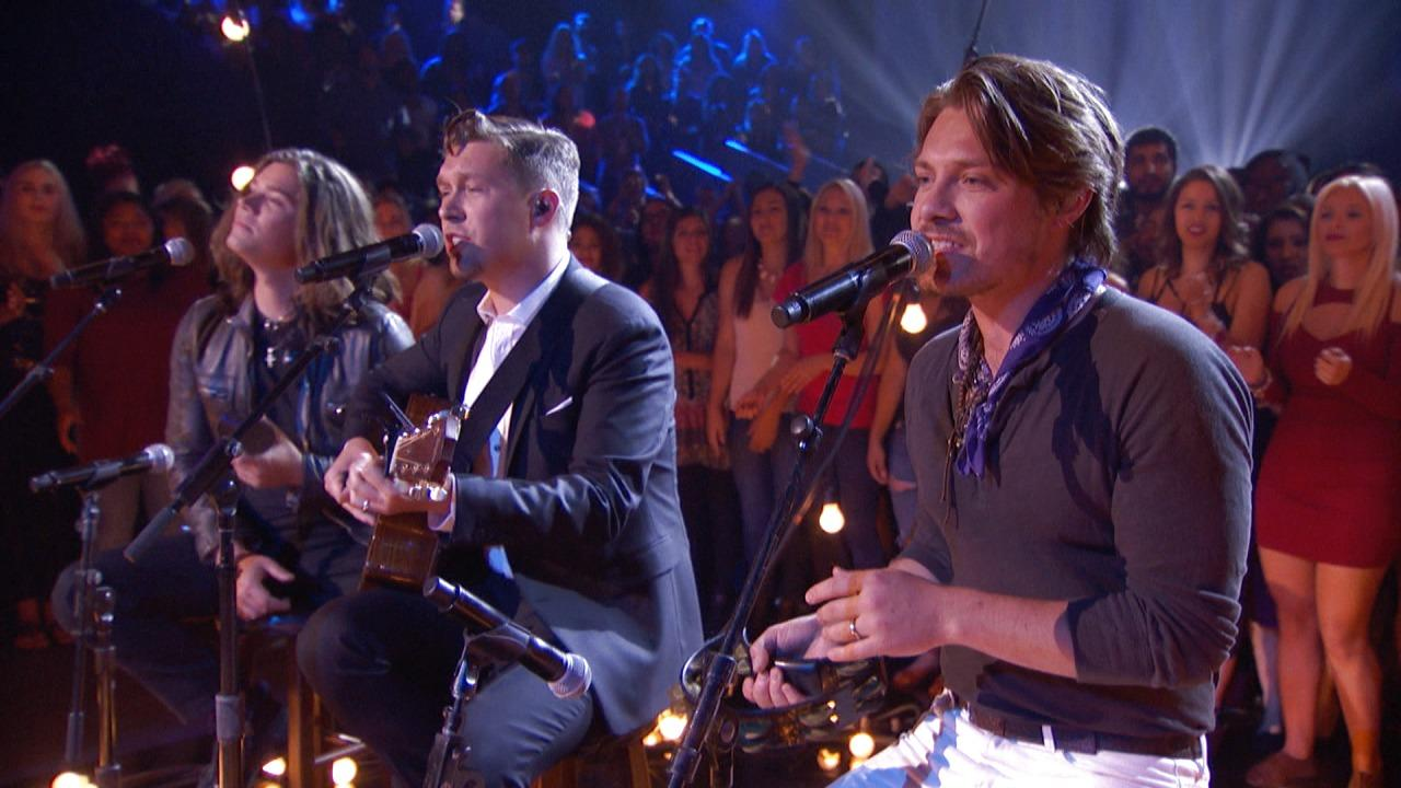 Hanson Performs an Acoustic Version of MMMBop on Greatest Hits