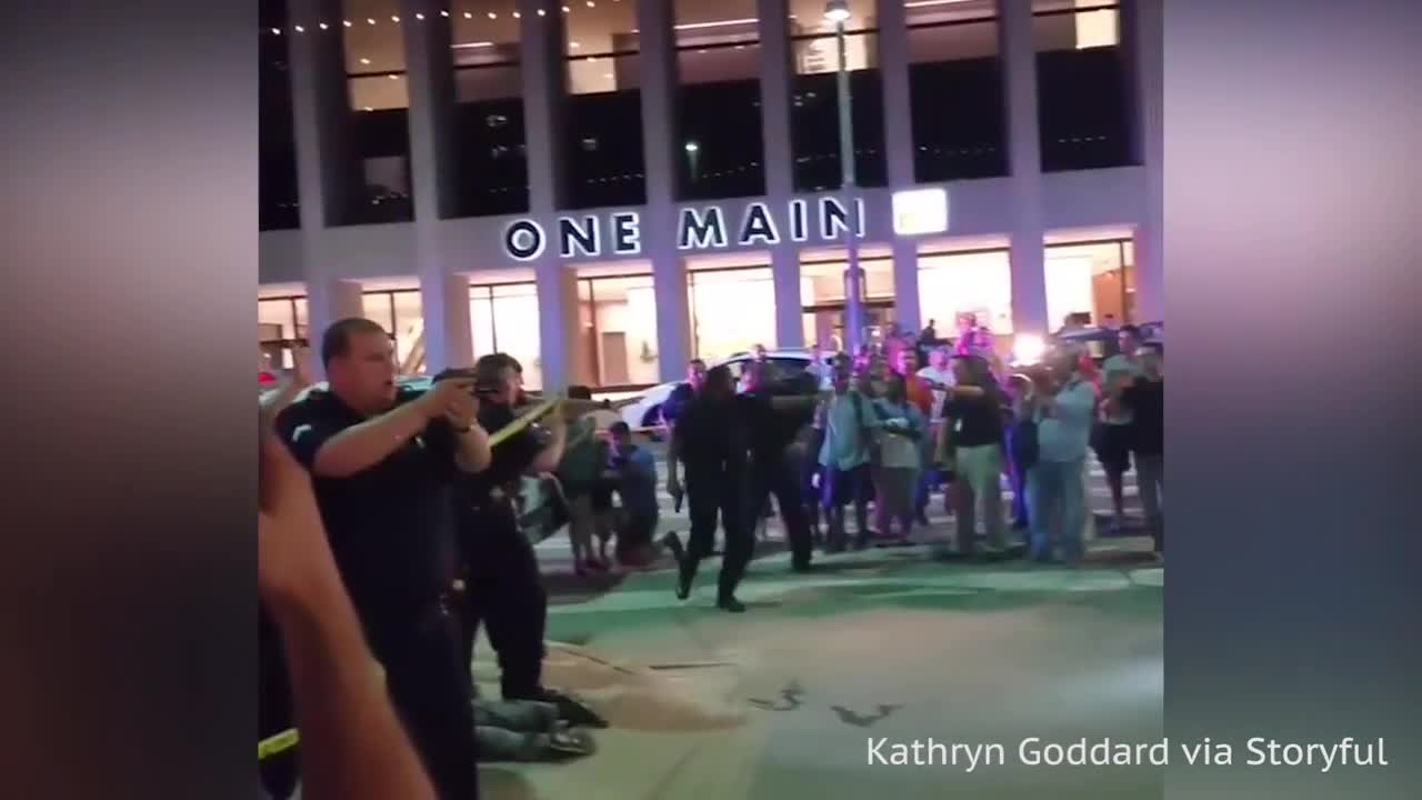 At Least Five Police Killed In Dallas Shooting