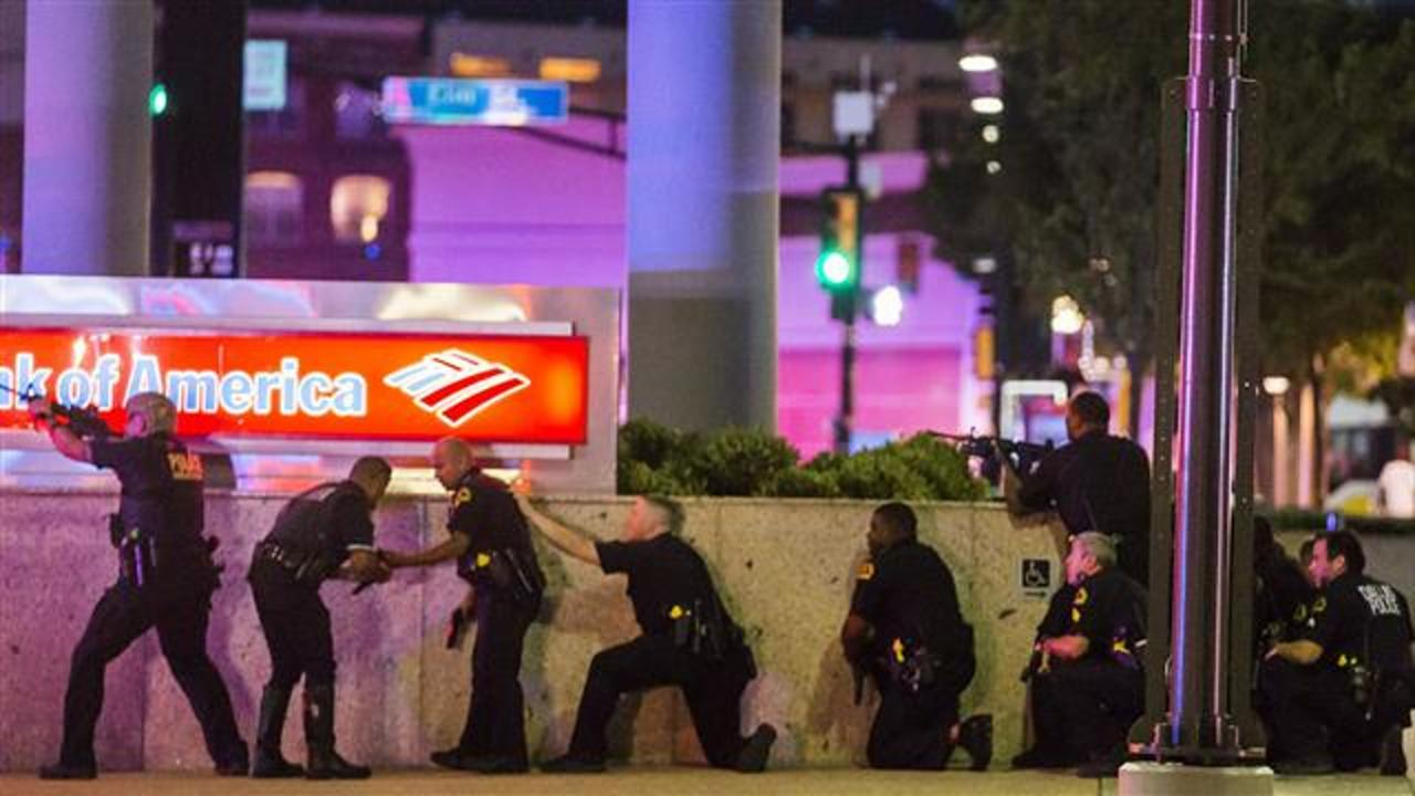 Dallas Shooting Incidents Caught on Video