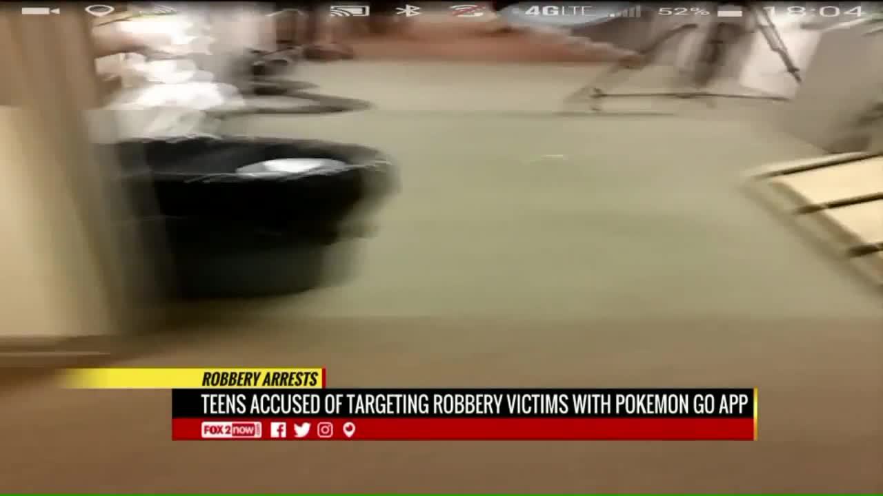 Police: Pokémon Go Users Targeted by Armed Robbers