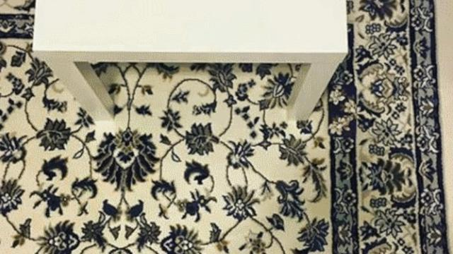 Internet Puzzle Solvers Struggle To Find Phone On Rug
