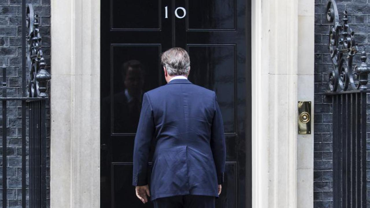 What Tune Did David Cameron Hum After Announcing He's Stepping Down?