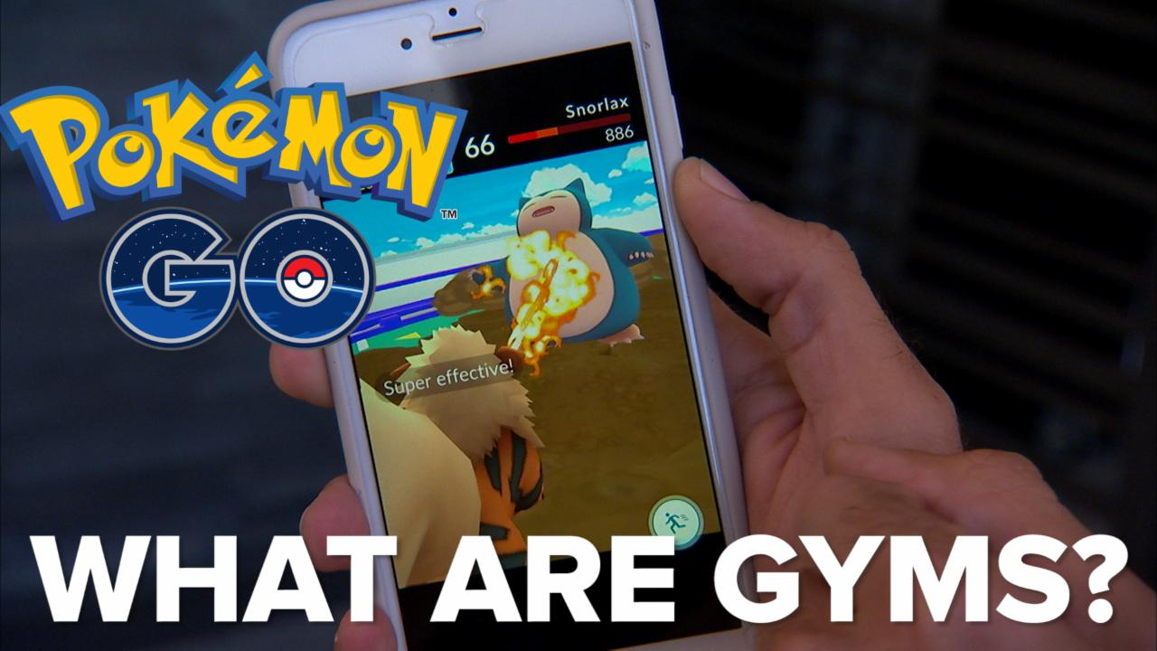 Pokemon Go: What are Gyms?