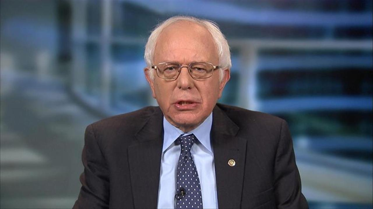 Bernie Sanders: Electing Donald Trump Would Be a 'Disaster'